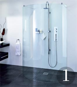 The latest shower enclosures | Real Homes