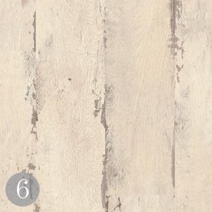 Classic laminate painted oak white planks