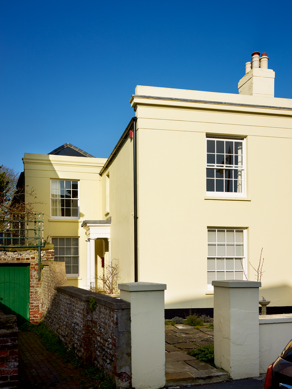 Georgian house with sympathetic two-storey extension