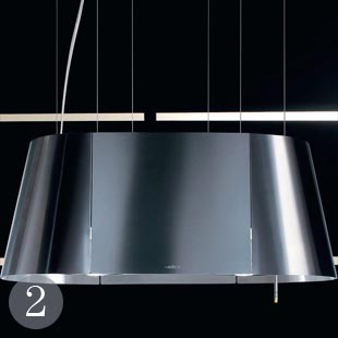 Stainless-steel cooker hood