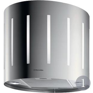 EFA50700X island cooker hood in stainless steel