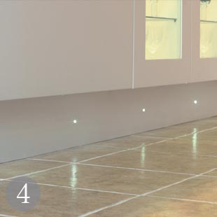 Great New Looks For Kitchen Lighting Real Homes - Kitchen plinth lights white