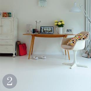 Dots vinyl cushion flooring