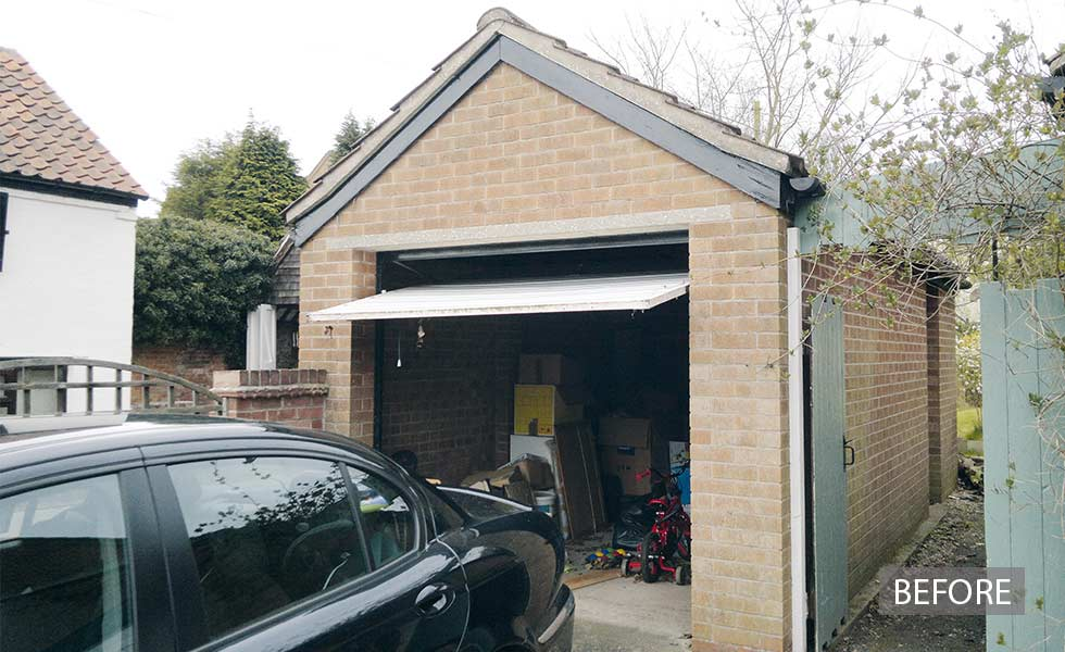 Ideas For Converting Your Garage   Design Ideas For Garage Conversions Real  Homes