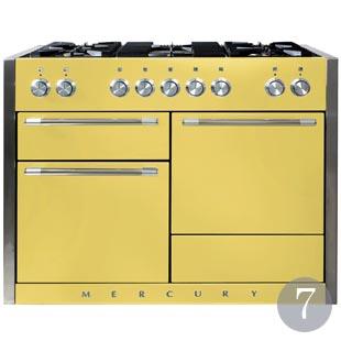 Sherbet Lemon range cooker