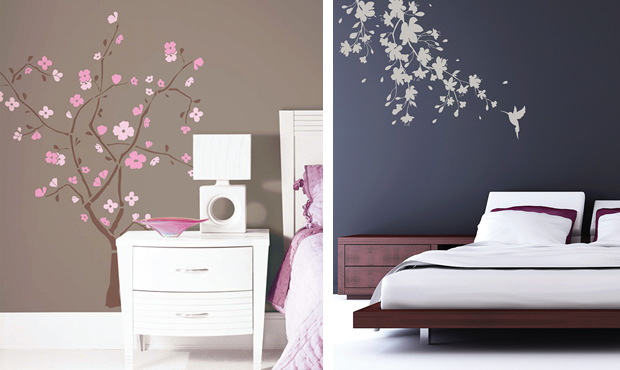 Spring Blossom Tree Wall Decals And Aakura Blossom Wall Sticker
