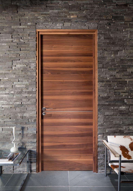 urbanfront-walnut-veneer & Contemporary internal doors - Real Homes
