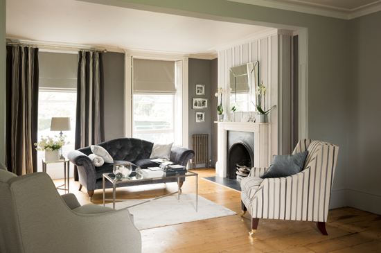 Farnborough Two Seater Sofa In Villandry Charcoal, £1,600; Addison Chair In  Knightley French Grey, £1,050; Addison Chair In Luxford Charcoal, £1,150;  ... Part 47