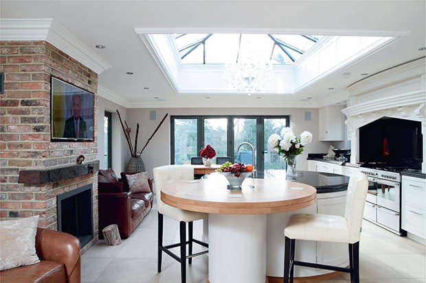 Real homes in london real homes for Living room extension ideas