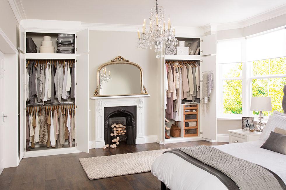 bedroom alcove wardrobe. Black Bedroom Furniture Sets. Home Design Ideas