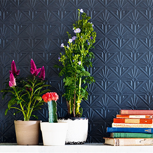 deco paradiso paintable textured wallpaper
