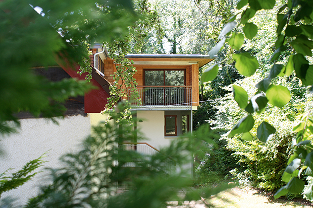 Treehouse style extension by Atelier-M