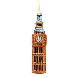 Big ben glass decoration from Berry Red