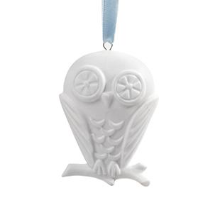 Owl ceramic ornament from Jonathan Adler