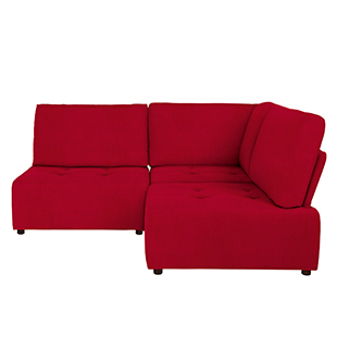 Flex sofa bed in Fraser red from House by John Lewis