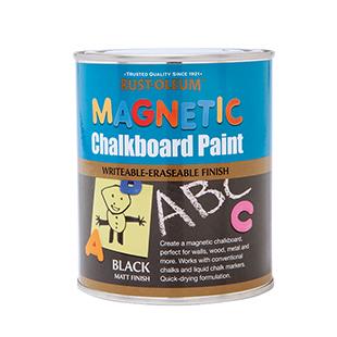 Rust-oleum magnetic chalkboard paint