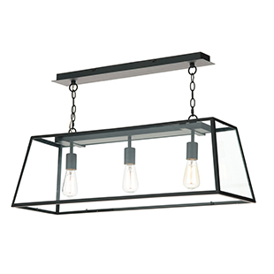 Academy three-light pendant from Dar Lighting