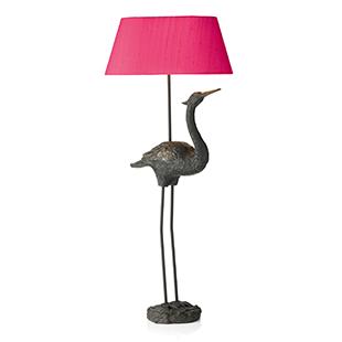 Heron lamp from Adventino