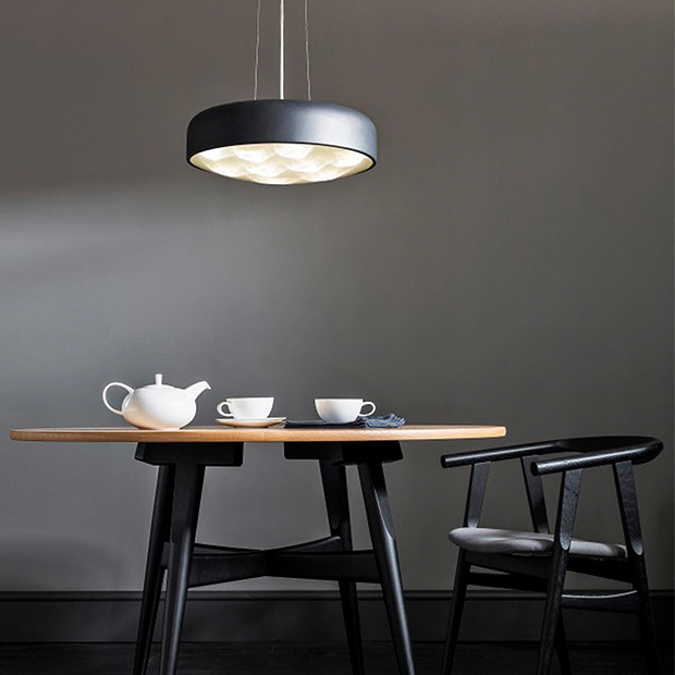 Lighting ideas for dining rooms real homes anders large led ceiling light from john lewis aloadofball Images