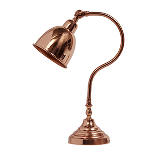 MiaFleur copper desk lamp