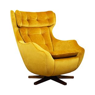 classic swivel armchair