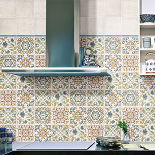 Walls and Floors' Lucy Floweret Decor tiles