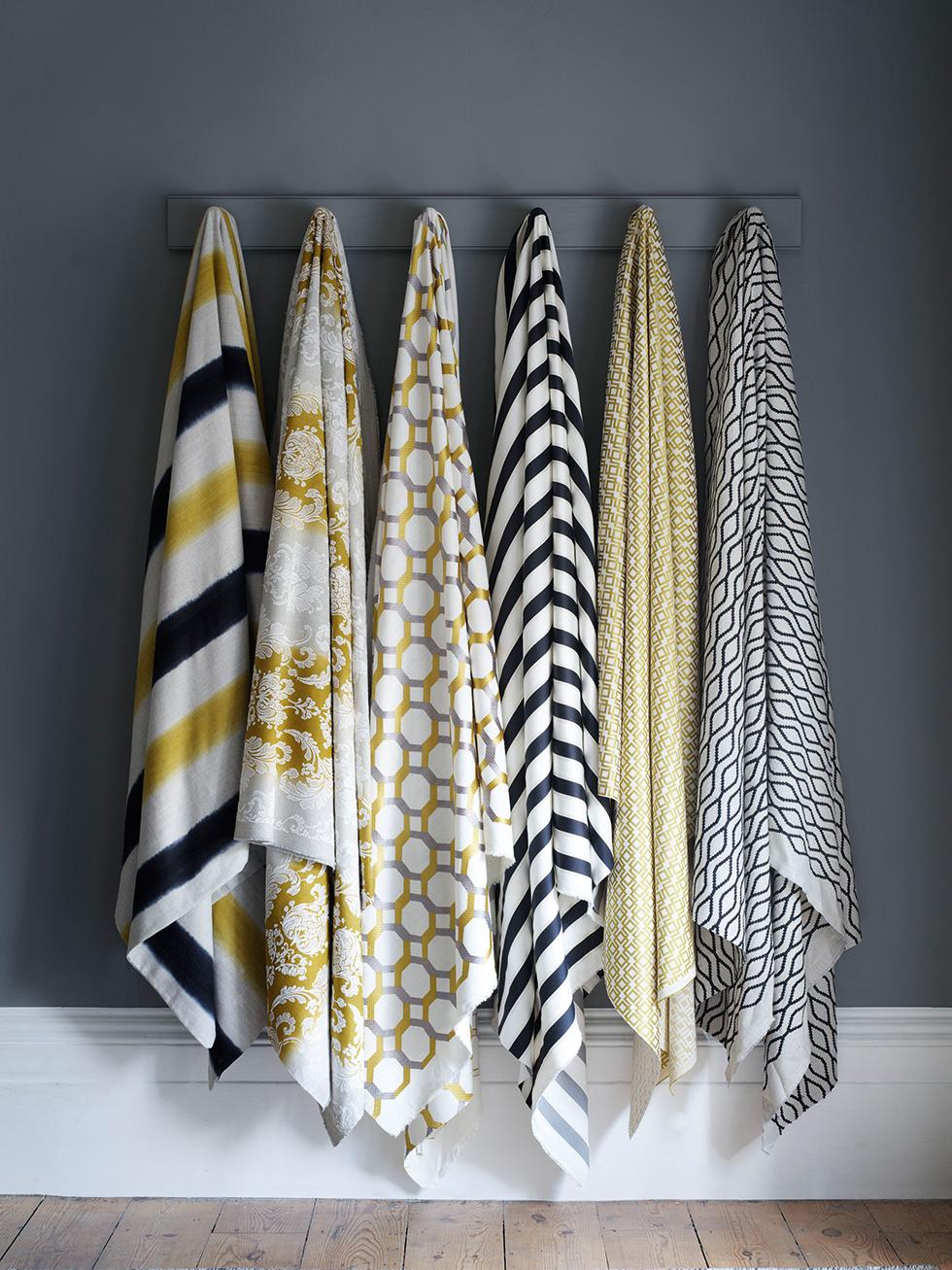 Fabrics from Clarke & Clarke