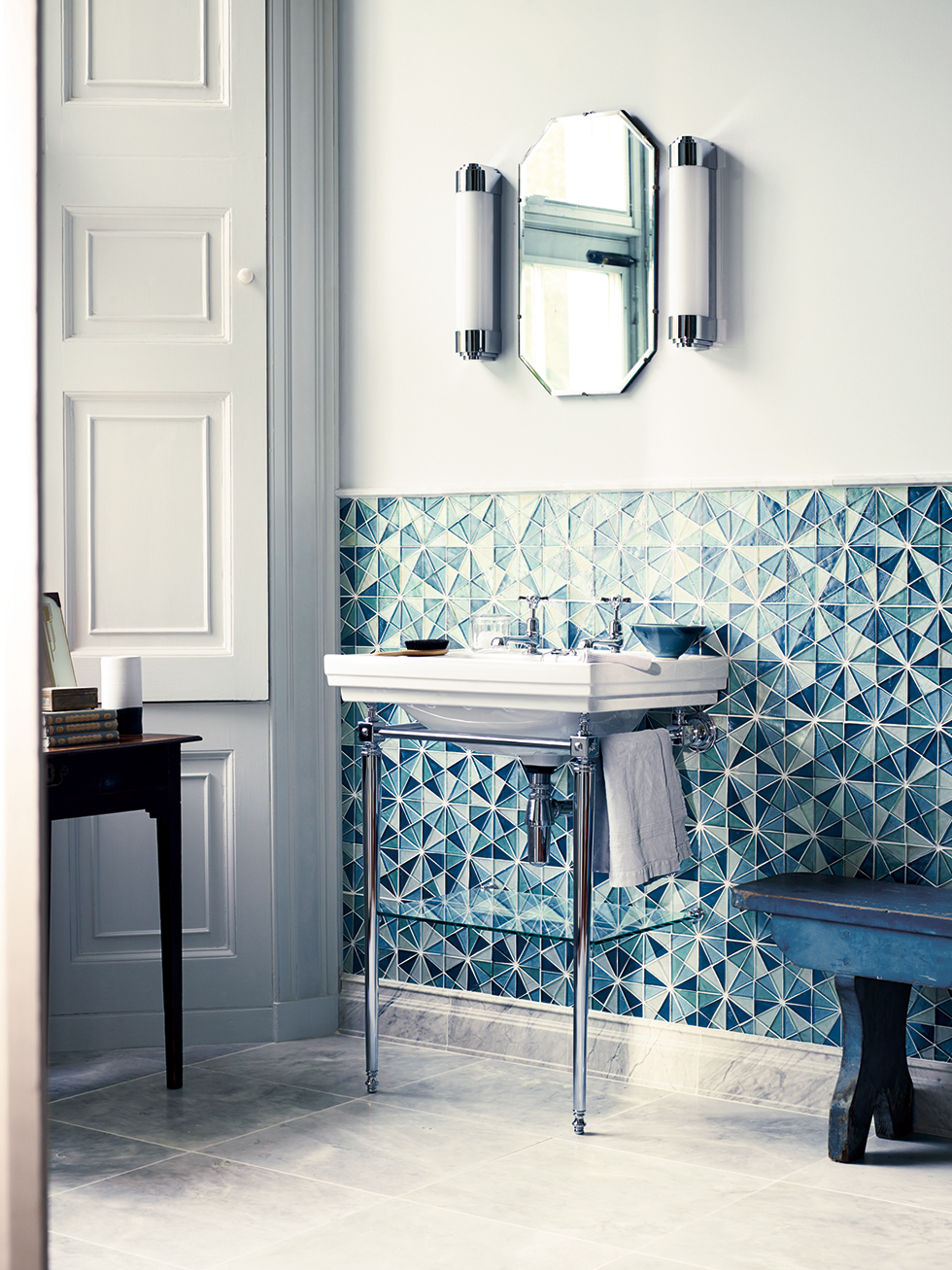 10 wallcovering trends for ss15 real homes Fired tiles