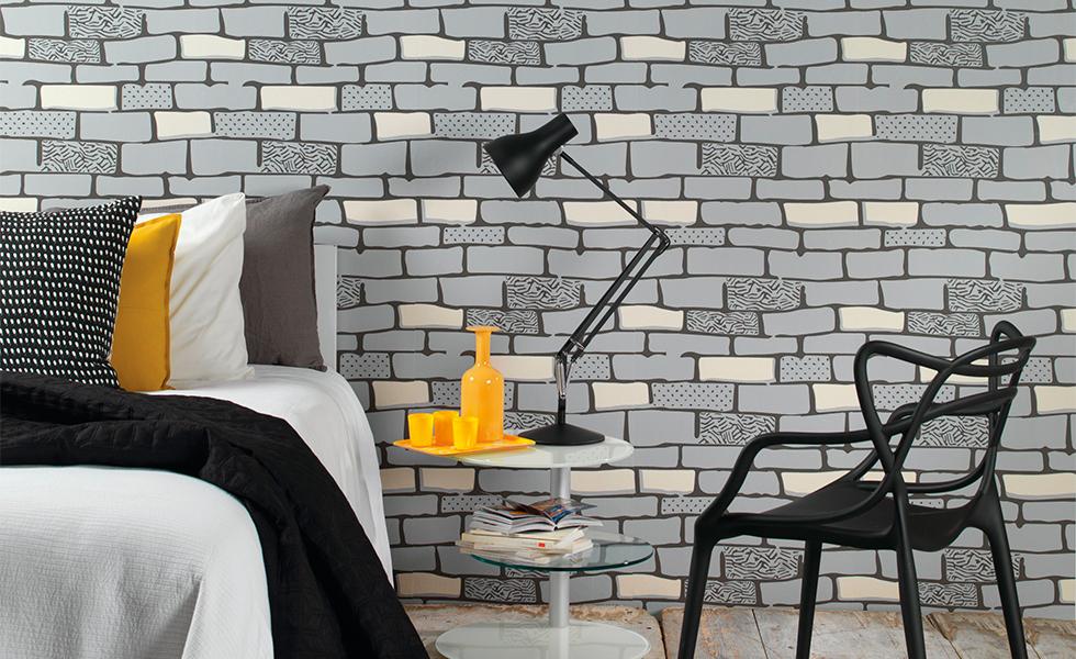 Graham & Brown new brick wallpaper
