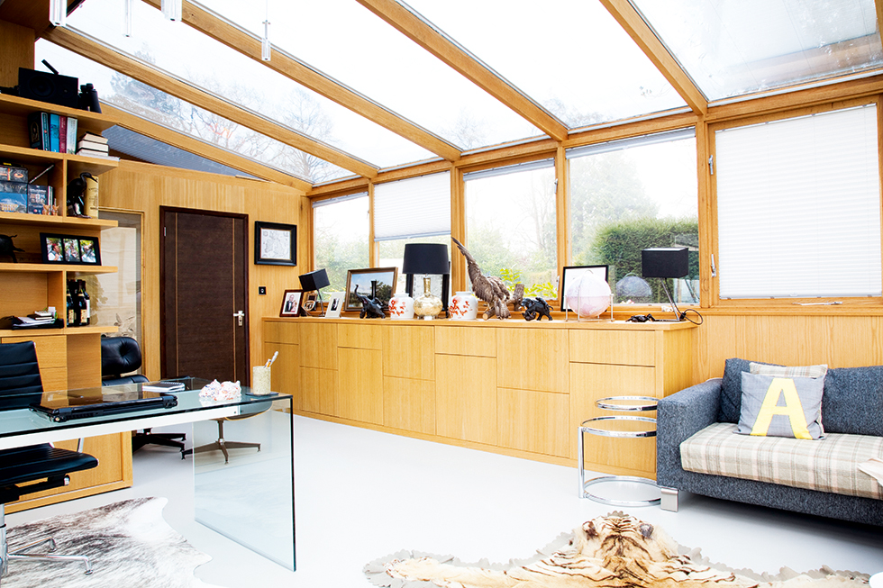 Bespoke home office from Barbara Genda Bespoke Furniture