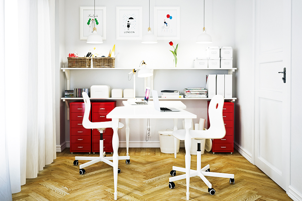 Home office from Ikea