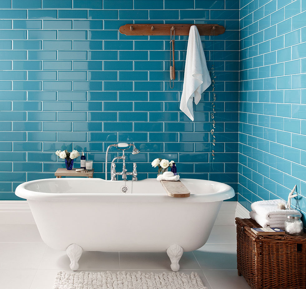 Colourful Bathrooms Real Homes