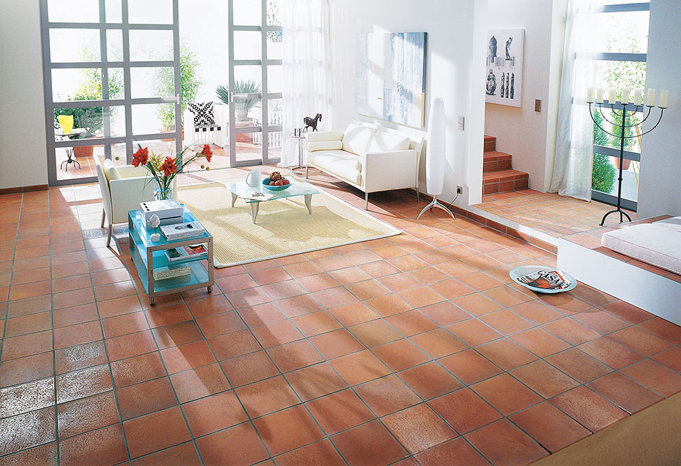 How to choose quarry and terracotta floor tiles real homes for How to choose floor tile