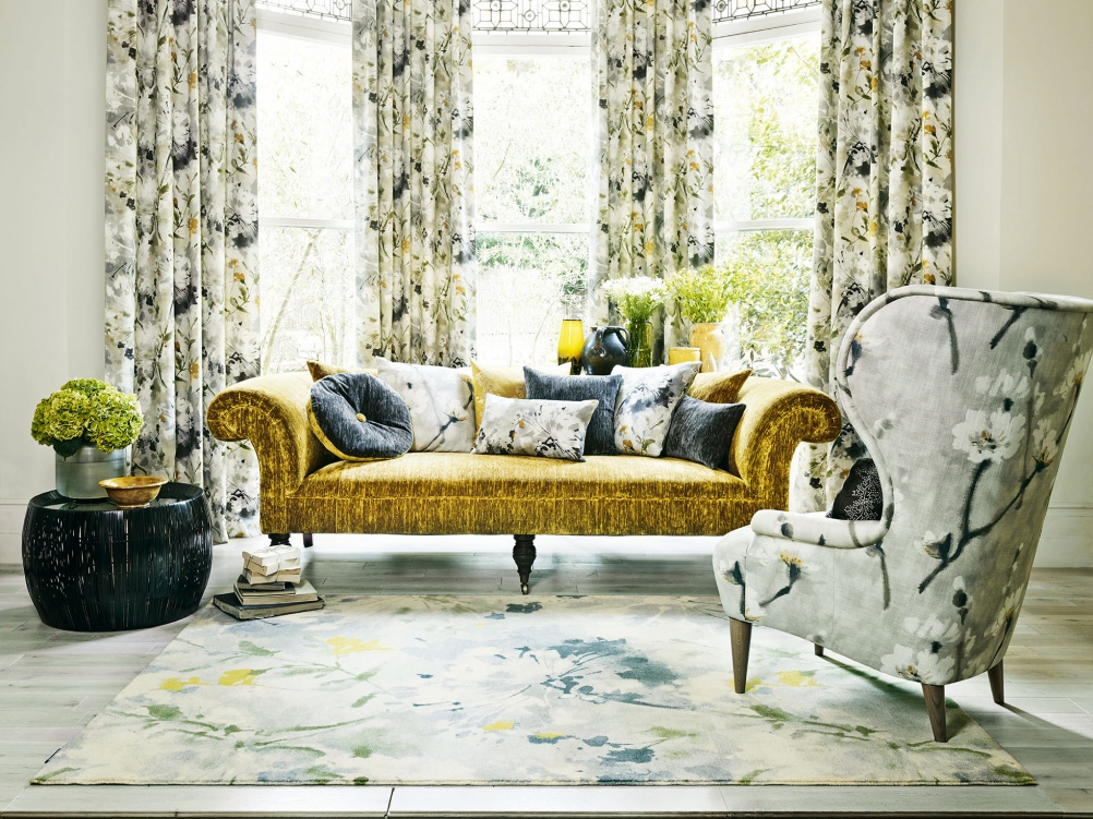 Decorating With Patterned Wallpaper Real Homes