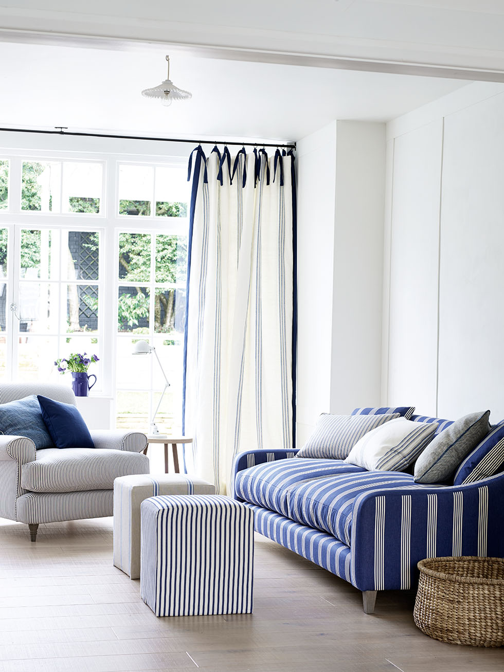 Focus on window treatments: curtains - Real Homes