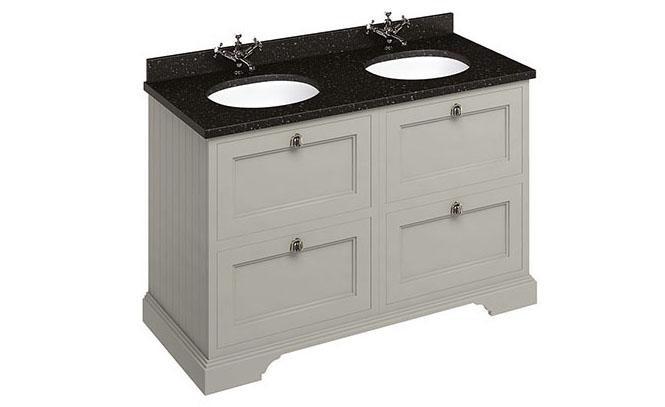 Burlington-Bathrooms-freestanding-unit-£1700-worktop-basins-£799