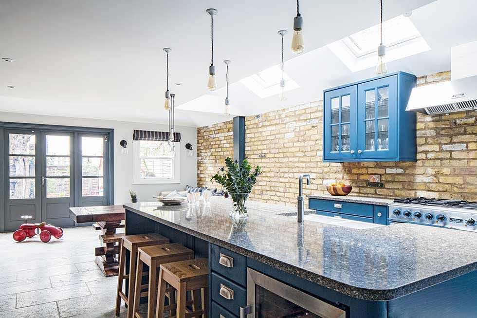 industrial style kitchen extensions in london