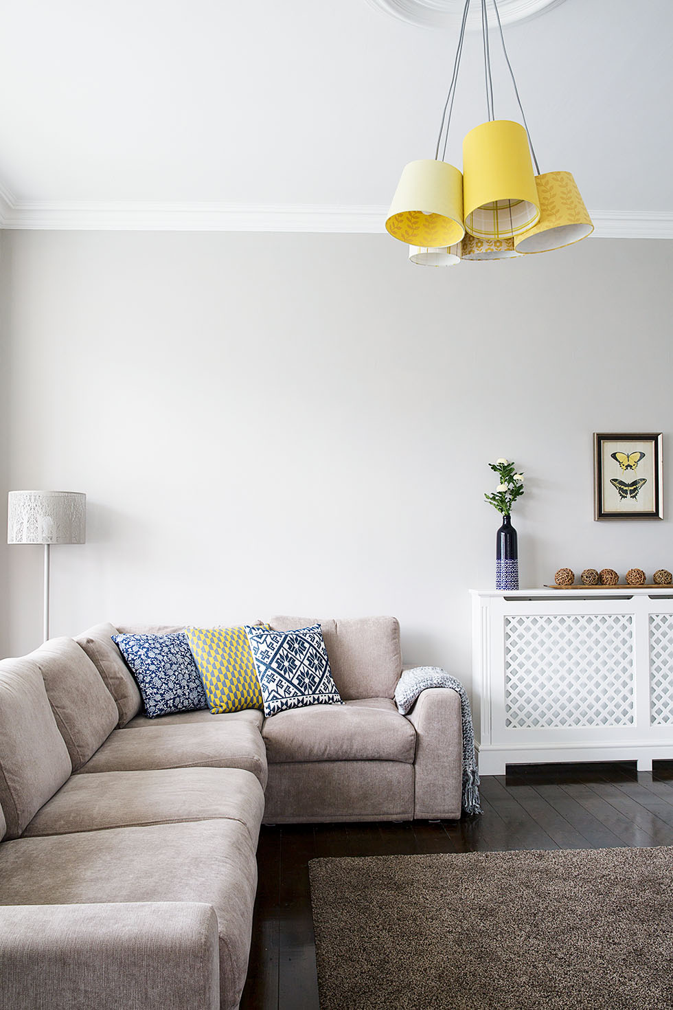 Extending for a family friendly period home real homes for Living room wallpaper b q