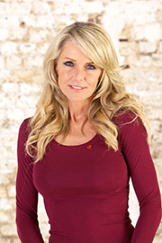 Interior designer and TV presenter Celia Sawyer