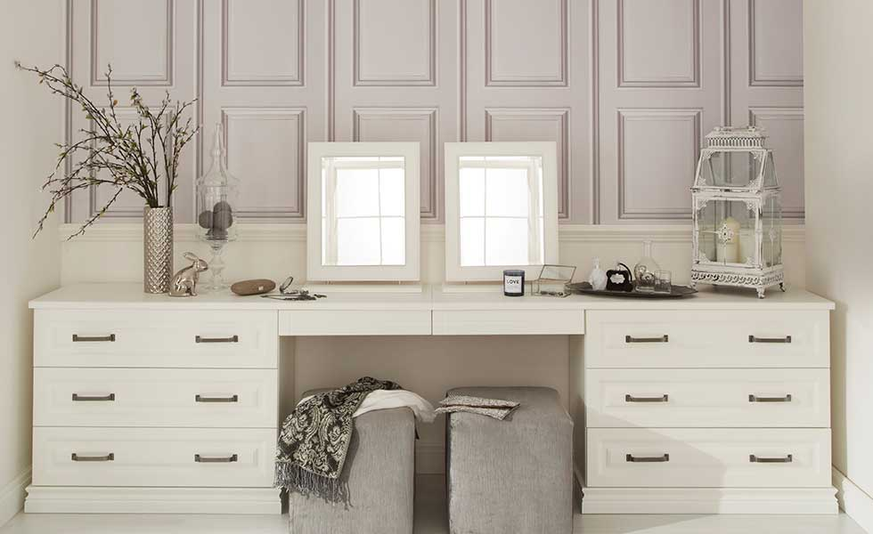Double dressing table from Hammonds