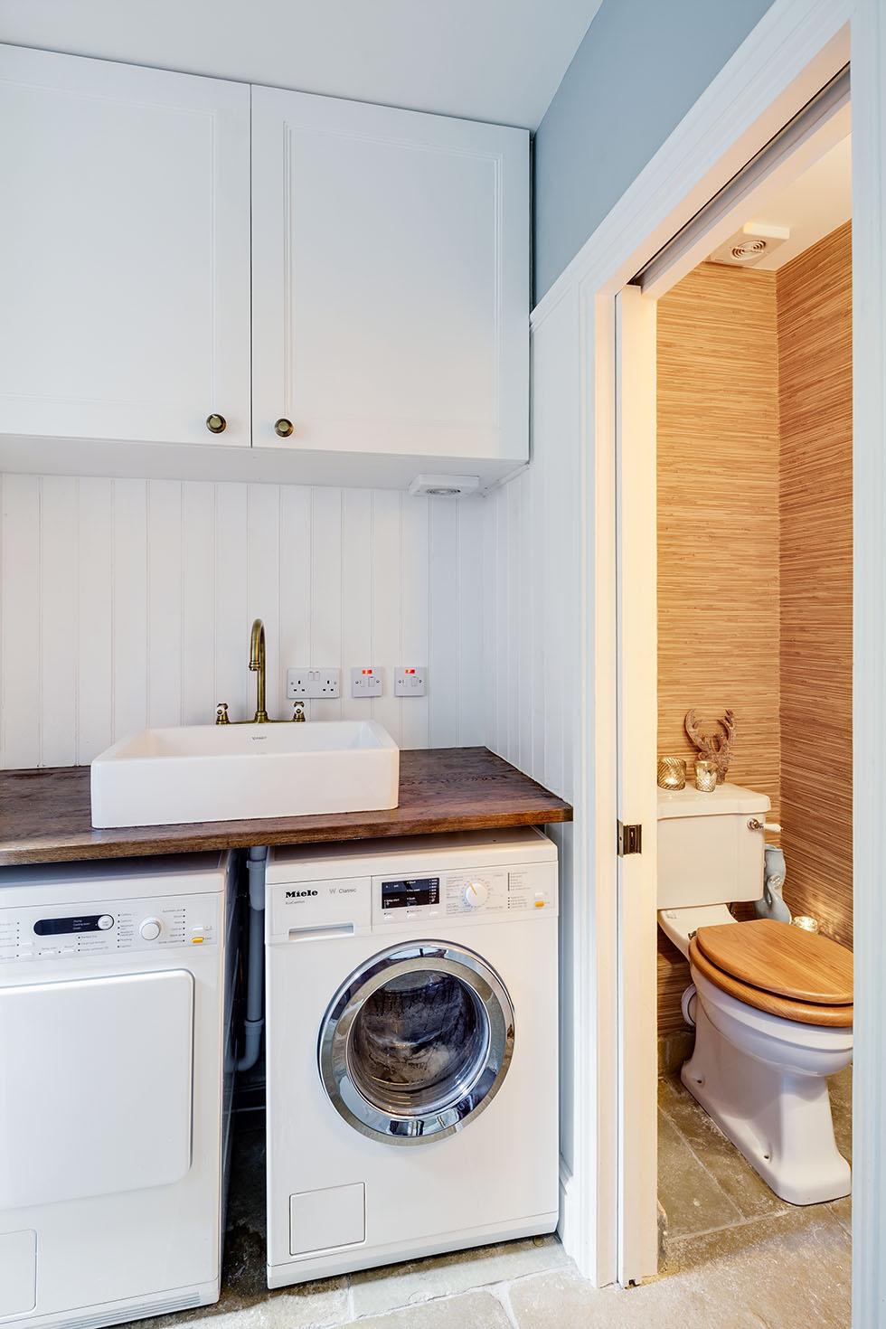 George Home Kitchen With Washing Machine Fridge