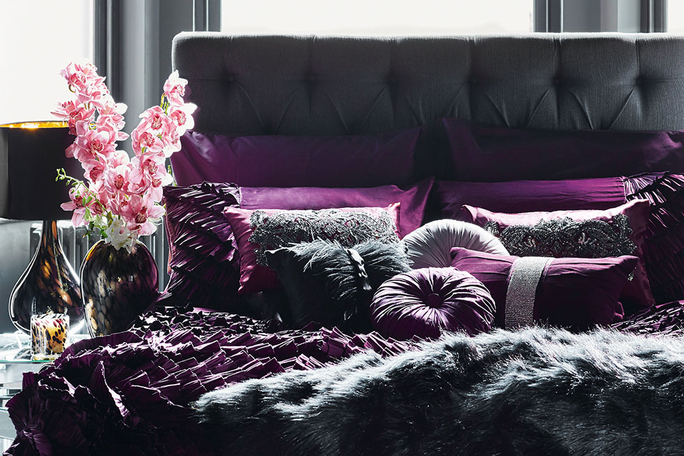 purple-grey-bedding