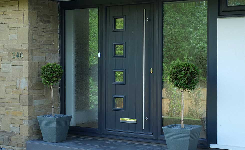 How to choose a new front door real homes for Composite front doors