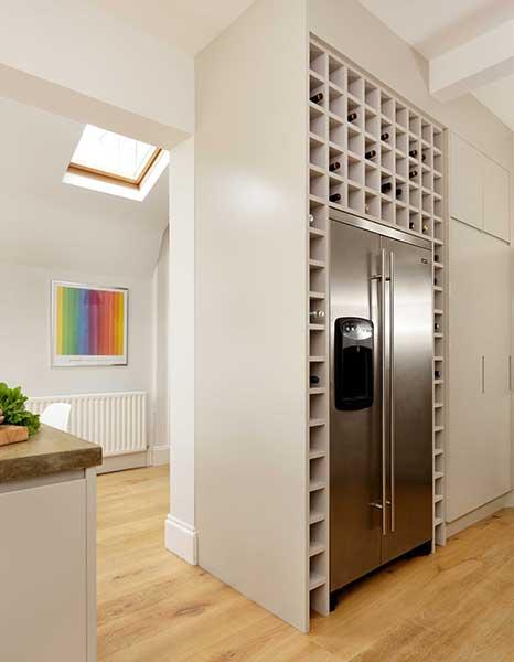 build-a-wine-rack-around-a-fridge-Cue-Co-of-London