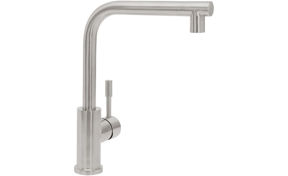 Villeroy-and-boch-stainless-steel-modern-single-lever-tap