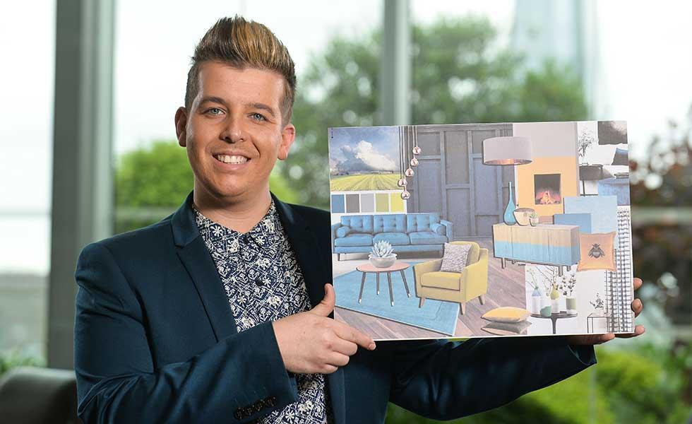 Nick Snow Valspar young interior designer of the year