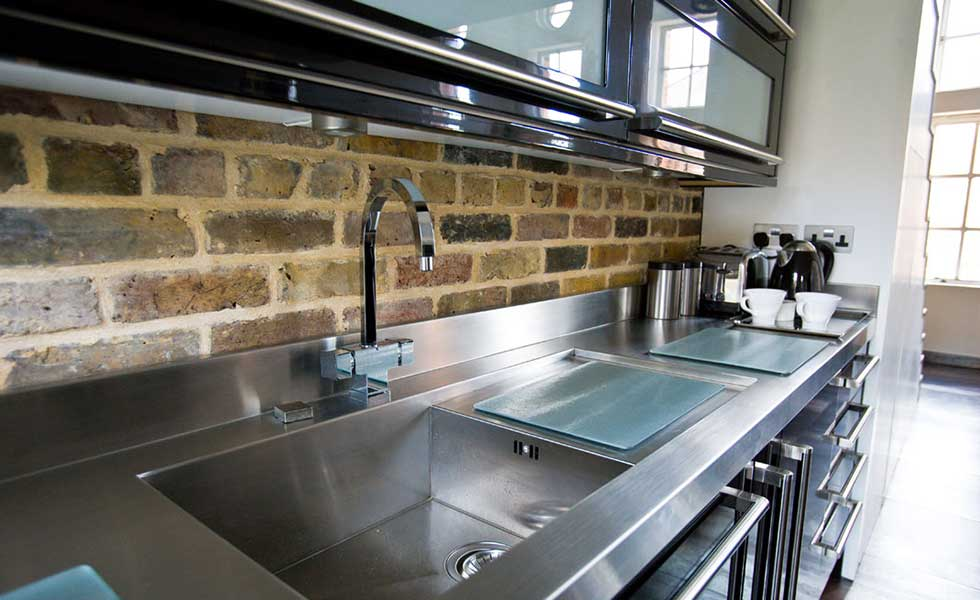 Cavendish equipment domestic stainless steel worktops