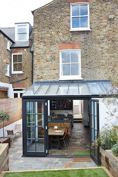 Glazed Extension To An Edwardian Terraced House Real Homes