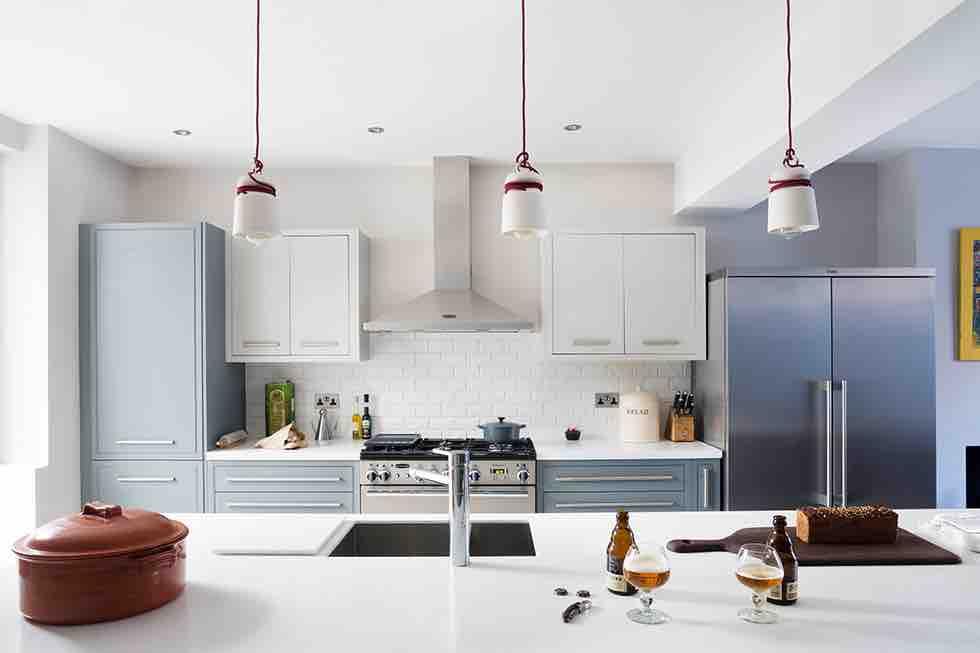 victorian terrace extension kitchen worktop