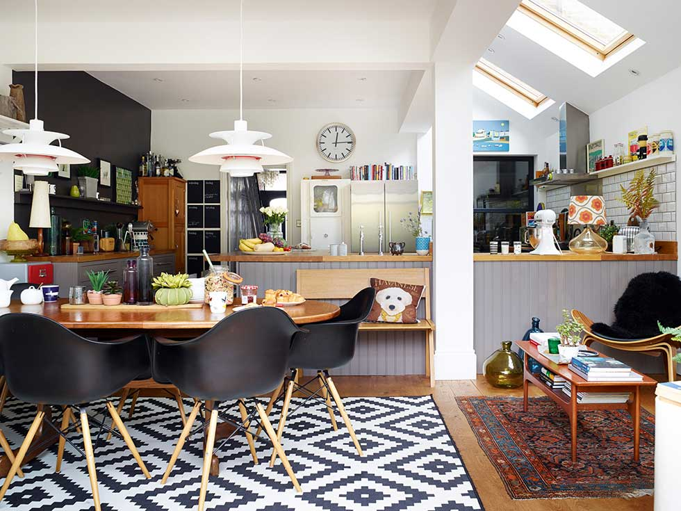 9 amazing victorian terrace transformations real homes for Terraced house dining room ideas
